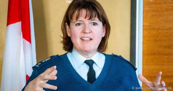 Une première femme nommée commandante en second de l'armée canadienne