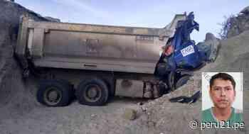 Chofer de camión muere al caer a zanja de 4 metros de profundidad en Lambayeque - Diario Perú21