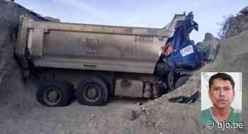 Camión cae a zanja de 4 metros de profundidad y muere chofer - Diario Ojo