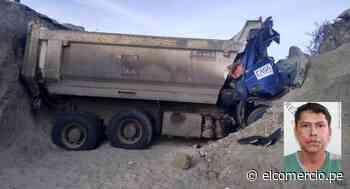 Lambayeque: conductor de camión falleció al caer a una zanja de 4 metros de profundidad - El Comercio Perú