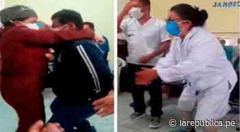 Coronavirus: trabajadores arman fiesta en centro de salud de Mórrope, pese a estado de emergencia | LRND - LaRepública.pe