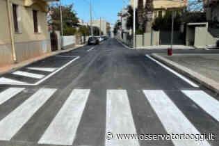 Pezze di Greco: nuovo asfalto e segnaletica orizzontale rifatta per strade più sicure e più moderne - OsservatorioOggi