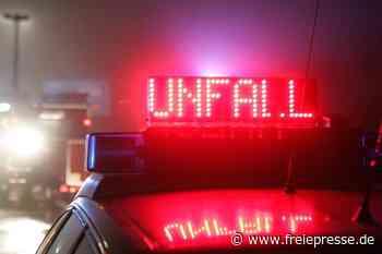 A4/Hainichen: Frau bei Unfall schwer verletzt - Freie Presse