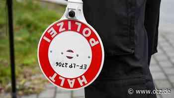 Fahrer ohne Fahrerlaubnis flüchtet in Rottenbach vor Polizei - Ostthüringer Zeitung