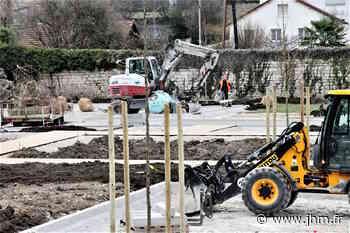 Grand-Jardin à Joinville : l'aménagement du parking en bonne voie - le Journal de la Haute-Marne