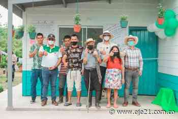 Gobierno de Caldas entregó viviendas en Norcasia - Eje21