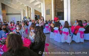 Homenajean a mujeres de Guadalupe Victoria por el 8 de marzo - El Sol de Durango