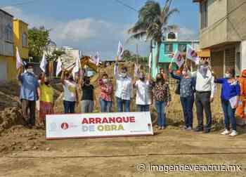 Inician trabajos de pavimentación en colonia Guadalupe Victoria - Imagen de Veracruz