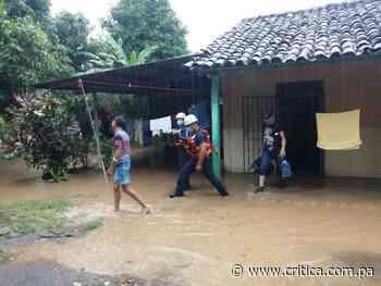 Fuertes lluvias dejan afectaciones en Las Tablas y Guararé (Videos) - Crítica Panamá