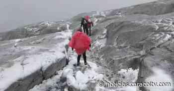 Resplandece el Cocuy tras inesperada tormenta de nieve - Noticias Caracol