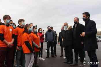 En images. Tony Estanguet ambassadeur des JO 2024 à Vaires-sur-Marne - La Marne