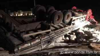 Homem morre após perder o controle e capotar caminhão em Porecatu - Bonde. O seu Portal de Notícias do Paraná