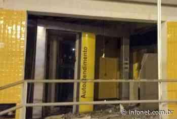 Criminosos explodem agência bancária em Pacatuba – Infonet – O que é notícia em Sergipe - Infonet