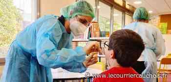Notre-Dame-de-Gravenchon. Ecole : la campagne des tests salivaires lancée - Le Courrier Cauchois