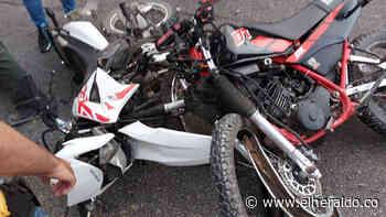 Choque de motos en la vía Polonuevo - Santo Tomás: dos muertos - EL HERALDO