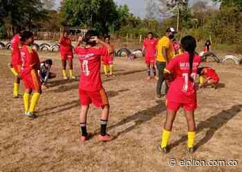 Sampdoria lidera el Torneo Vacacional de Fútbol Femenino en Curumaní - ElPilón.com.co
