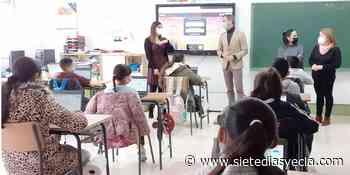 El colegio 'La Pedrera', elegido Centro Digital de Referencia de la comarca - Siete Días Yecla