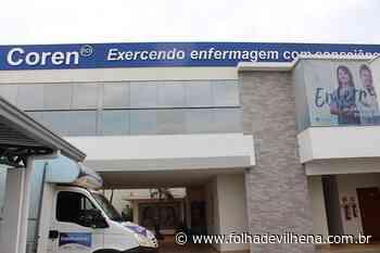 Coren-RO aciona judicialmente o prefeito de Ouro Preto do Oeste por exercício ilegal da profissão de Enfermagem - Folha de Vilhena