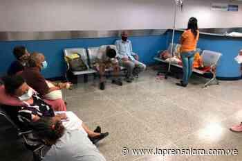 Traslado de pacientes de Acarigua colapsa Emergencia del Central - La Prensa de Lara
