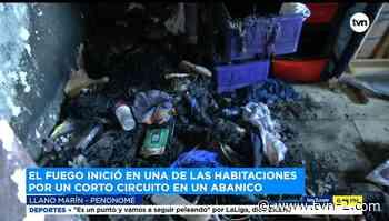 Dos menores de edad rescatados de residencia que se incendió en Penonomé - TVN Panamá