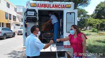 La Libertad: entregan ambulancias para Utes de Otuzco y Gran Chimú - LaRepública.pe