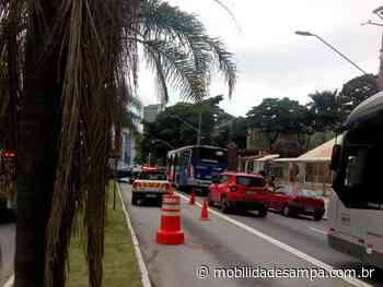 Acidente entre veículos interdita parcialmente Avenida Francisco Morato no Butantã - Mobilidade Sampa