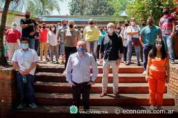 La EBY llevó el Plan Cultivando Agua Buena a Eldorado - economis.com.ar