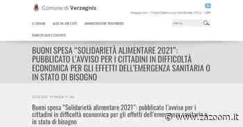 Buoni spesa per i cittadini di Tolmezzo | Amaro | Cavazzo Carnico e Verzegnis - Zazoom Blog