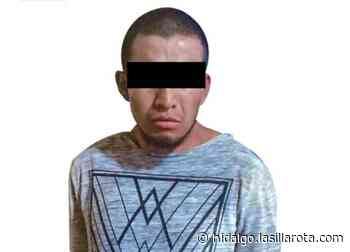 Detienen a sujeto por asalto en tienda de abarrotes en Apan - La Silla Rota