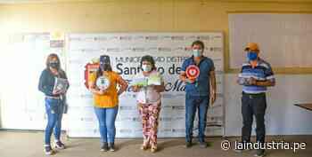 Santiago de Cao: azucarera entrega implementos de seguridad sanitaria a Juntas Vecinales - La Industria.pe