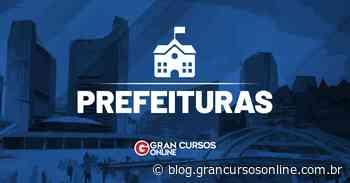 Concurso Santa Cruz do Rio Pardo SP: inscrições abertas. VEJA! - Gran Cursos Online