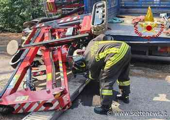 Incidente a Venegono Superiore: un operaio rimane schiacciato tra due automezzi - Settenews