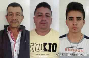 Detenidos tres hombres con armas de fuego en Timaná - Diario del Huila