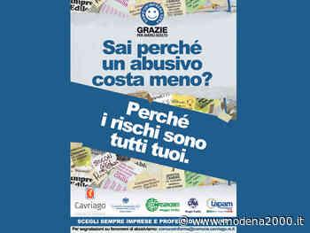 Firmato il protocollo contro l'abusivismo a Cavriago - Modena 2000