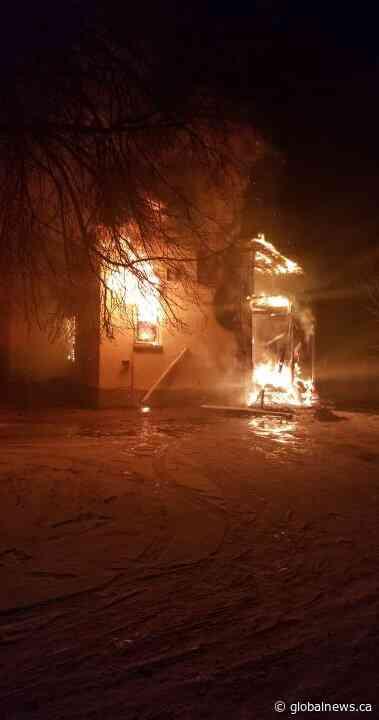 Portage la Prairie house fire suspicious, RCMP say - Global News