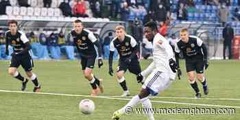 Ghana's Joel Fameyeh converts penalty to help Orenburg defeat Torpedo Moscow 3-0 - Modern Ghana