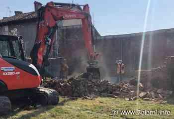 Tribiano, abbattuto il muro di cascina Castellini: partono i lavori per il nuovo tracciato ciclopedonale  fotogallery  - 7giorni