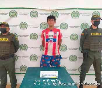 Cae alias 'Chibolo' por robar ofrendas en iglesia de Mompox - El Universal - Colombia
