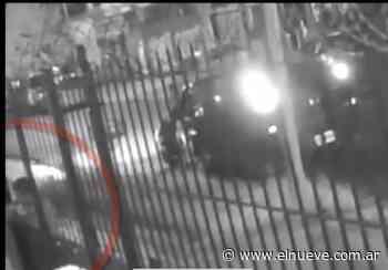 Paró el auto y se robó una canilla en Lomas del Mirador - Noticias, TL9 Noticias (Clips) - telenueve