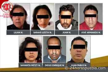 Suman 7 secuestradores detenidos de una célula detectada en Tlaxcalancingo en San Andrés Cholula - 24 Horas El Diario Sin Límites Puebla