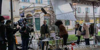 Villennes-sur-Seine - La halle retenue pour le tournage d'une publicité - La Gazette en Yvelines