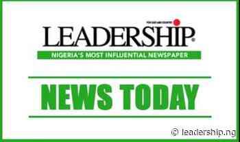 Next Post Ohiare Mourns Ohi Of Okene - Leadership Newspapers