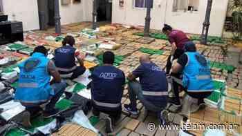 Secuestraron en Los Cardales cinco toneladas de marihuana que venían de Brasil - Télam