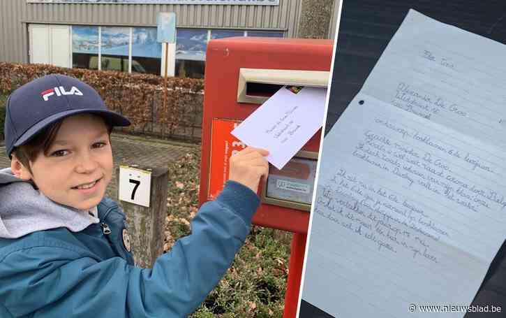 Flor (11) wil zo graag op bosklassen dat hij het aan de premier zelf vroeg en die belde terug