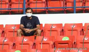 Roger Federer watches on as Dan Evans beats Jeremy Chardy to set up Qatar Open clash - Express