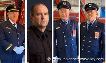 '156 years of combined firefighting experience': Mississippi Mills salutes 4 retiring firefighters - Ottawa Valley News