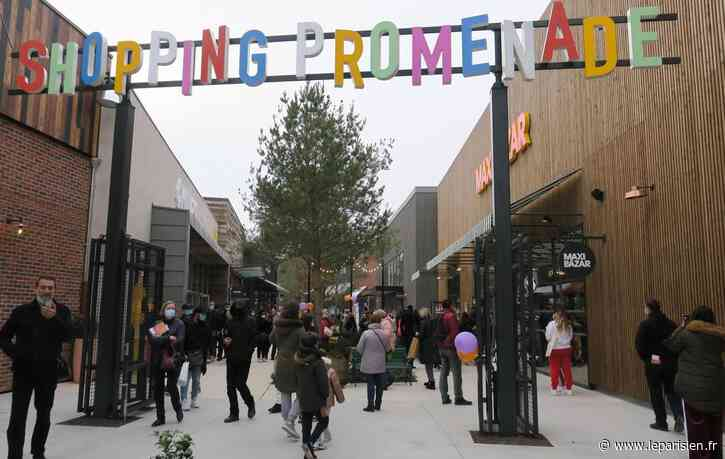 Claye-Souilly : Shopping Promenade, un centre commercial qui ouvre en plein Covid - Le Parisien