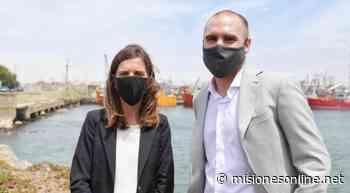 Guzmán y Raverta visitaron el Puerto de Mar del Plata y anunciaron obras de ampliación - MisionesOnline - Misiones OnLine