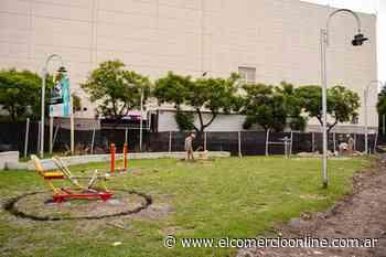 Vicente López avanza con la remodelación de la plaza White de Munro - elcomercioonline.com.ar
