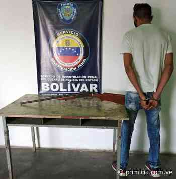 Lo arrestaron en un despliegue realizado en Caicara del Orinoco - Diario Primicia - primicia.com.ve